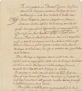 Acte Notaire 1838 Famille Leunen Beckers De Beringen Beeringen Gestel Limbourg Limburg - Manuscripts