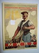 Winterhilfswerk (WHW)  Türplakette März 1940,  Tieste 642.4  Mit Zudruck! - Documents