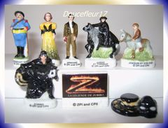 Zorro 2007 ... Lot De 8 Fèves ... Ref AFF : 95-2007 .. (pan 0011) - Disney