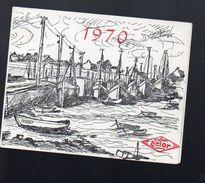 Calendrier 1970 Offert Par Les GRAINES ECLOR  (PPP6473) - Calendars