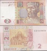 Ukraine Pick-Nr: 117c Bankfrisch 2011 2 Hryven - Ukraine