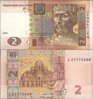 Ukraine Pick-Nr: 117b Bankfrisch 2005 2 Hryven - Ukraine