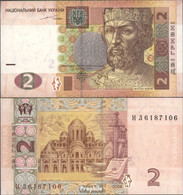 Ukraine Pick-Nr: 117a Bankfrisch 2004 2 Hryven - Ukraine