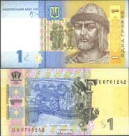 Ukraine Pick-Nr: 116A A Bankfrisch 2006 1 Hryven - Ukraine