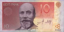 Estland Pick-Nr: 86a Bankfrisch 2006 10 Krooni - Estland