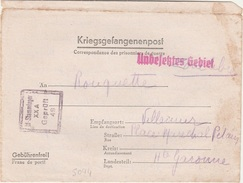 WW2 - Lettre D'un Prisonnier De Guerre Du STALAG  XX A- L 5094 - 2. Weltkrieg 1939-1945
