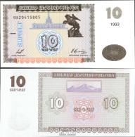 Armenien 33 Bankfrisch 1993 10 Drams - Armenien