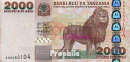 Tansania Pick-Nr: 37a Bankfrisch 2003 2.000 Shilingi - Tansania