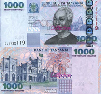 Tansania Pick-Nr: 36a Bankfrisch 2003 1.000 Shilingi - Tanzania