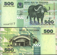 Tansania Pick-Nr: 35 Bankfrisch 2003 500 Shilingi - Tansania