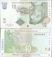 Südafrika Pick-Nr: 128b Bankfrisch 2005 10 Rand - Südafrika