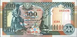 Somalia Pick-Nr: 36c Bankfrisch 1996 500 Shillings Boot - Somalia