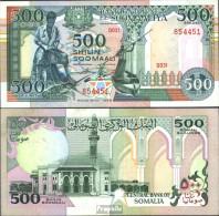 Somalia Pick-Nr: 36a Bankfrisch 1989 500 Shillings - Somalia