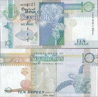 Seychellen Pick-Nr: 36b Bankfrisch 2010 10 Rupees - Seychellen