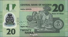 Nigeria Pick-Nr: 34a Bankfrisch 2006 20 Naira - Nigeria