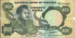 Nigeria Pick-Nr: 26f Bankfrisch 1984 20 Naira - Nigeria