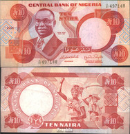 Nigeria Pick-Nr: 25i Bankfrisch 2005 10 Naira - Nigeria