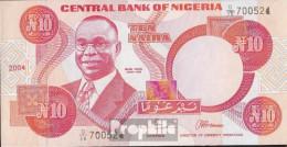 Nigeria Pick-Nr: 25g (2004) Bankfrisch 2004 10 Naira - Nigeria