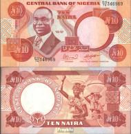 Nigeria Pick-Nr: 25e Bankfrisch 2000 10 Naira - Nigeria