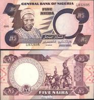 Nigeria Pick-Nr: 24h (2005) Bankfrisch 2005 5 Naira - Nigeria