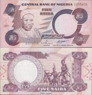 Nigeria Pick-Nr: 24g (2001) Bankfrisch 2001 5 Naira - Nigeria