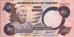 Nigeria Pick-Nr: 24f Bankfrisch 2001 5 Naira - Nigeria