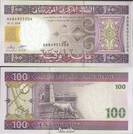 Mauretanien Pick-Nr: 10c Bankfrisch 2008 100 Ouguiya - Mauritanien