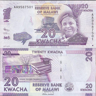 Malawi Pick-Nr: 57a Bankfrisch 2012 20 Kwacha - Malawi