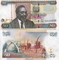 Kenia Pick-Nr: 47b Bankfrisch 2006 50 Shillings - Kenia