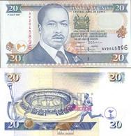 Kenia Pick-Nr: 35b Bankfrisch 1997 20 Shillings - Kenia