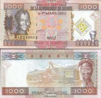 Guinea Pick-Nr: 43 Bankfrisch 2010 1.000 Francs - Guinea