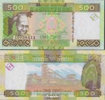 Guinea Pick-Nr: 39a Bankfrisch 2006 500 Francs - Guinea