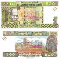 Guinea Pick-Nr: 36 Bankfrisch 1998 500 Francs - Guinea