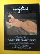 5931 - Modigliani Exposition 1990  Fondation Pierre Gianadda Martigny Suisse Dôle 1989 - Art
