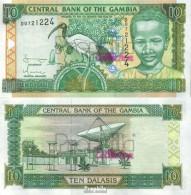 Gambia Pick-Nr: 21c Bankfrisch 2001 10 Dalasis Ibis - Gambia