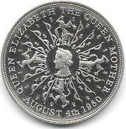 Queen Elizabeth The Queen Mother   1980 ( Proof Silver ) - Grande-Bretagne