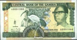 Gambia 13b Bankfrisch 1991 10 Dalasis Ibis - Gambia