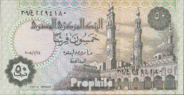 Ägypten Pick-Nr: 62 (2008) Signature 22 Bankfrisch 2008 50 Piastres - Aegypten