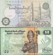 Ägypten Pick-Nr: 62k (14.11.2006) Bankfrisch 2006 50 Piastres - Aegypten