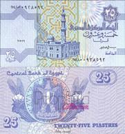 Ägypten Pick-Nr: 57b Signatur 19 Bankfrisch 1998 25 Piastres - Aegypten