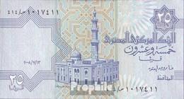 Ägypten Pick-Nr: 57 (13.7.2008) Signatur 22 Bankfrisch 2008 25 Piastres - Aegypten
