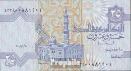 Ägypten Pick-Nr: 57 (10.9.2008) Signatur 22 Bankfrisch 2008 25 Piastres - Aegypten