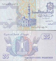 Ägypten Pick-Nr: 57g, Signatur 22 (24.9.2006) Bankfrisch 2006 25 Piastres - Aegypten