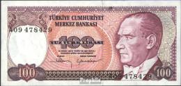Türkei Pick-Nr: 194a Bankfrisch 1970 100 Lira - Türkei