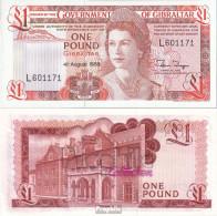 Gibraltar Pick-Nr: 20e Bankfrisch 1988 1 Pound - Gibraltar