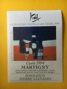 5932 - Nicolas De Staël Exposition 1995  Fondation Pierre Gianadda Martigny Suisse - Art