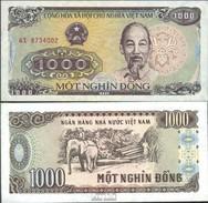 Vietnam Pick-Nr: 106a Bankfrisch 1988 1.000 Dong - Vietnam