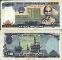 Vietnam Pick-Nr: 104a Gebraucht (III) 1987 5.000 Dong - Vietnam