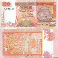 Sri Lanka Pick-Nr: 111a (118a) Bankfrisch 2001 100 Rupees - Sri Lanka
