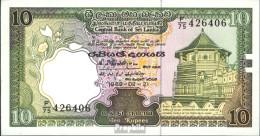 Sri Lanka Pick-Nr: 96e Bankfrisch 1990 10 Rupees - Sri Lanka